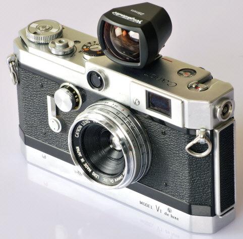 canon rangefinder 25/3.5 lens