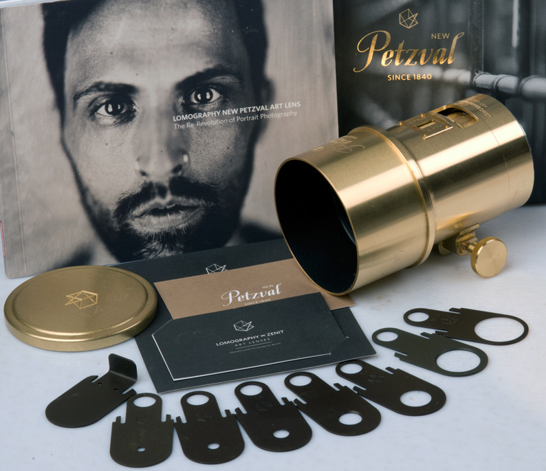 Lomography Petzval Portrait Lens Set Up